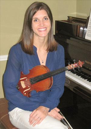 Concertmaster Elyse Catoe